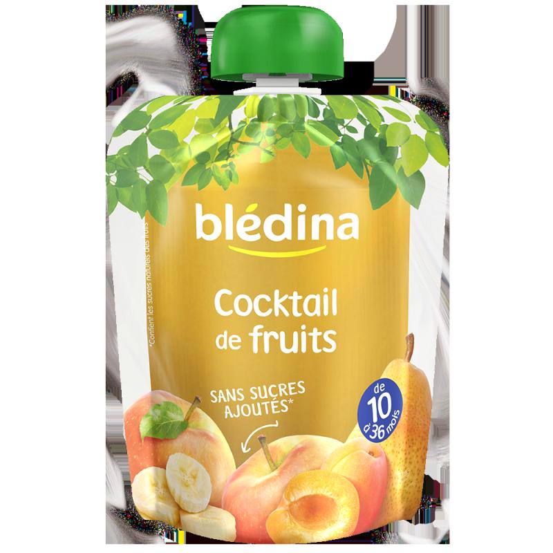 Gourdes Cocktail de Fruits - 4x90g