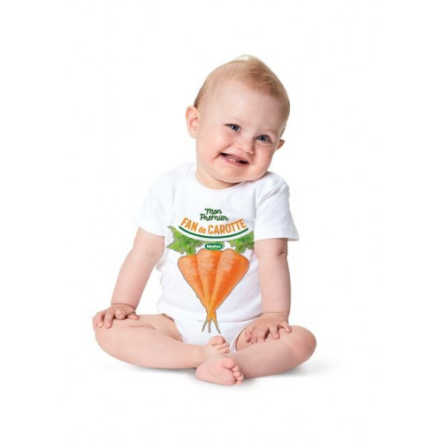 Body Mon 1er fan de carotte - 12 mois