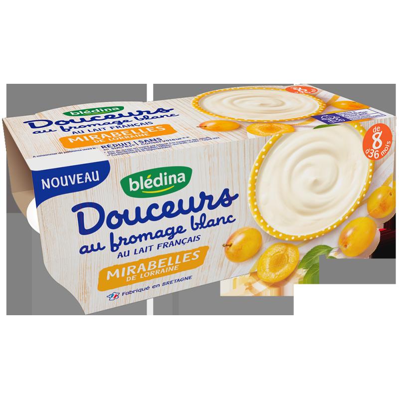 Douceurs au fromage blanc Mirabelles de Lorraine