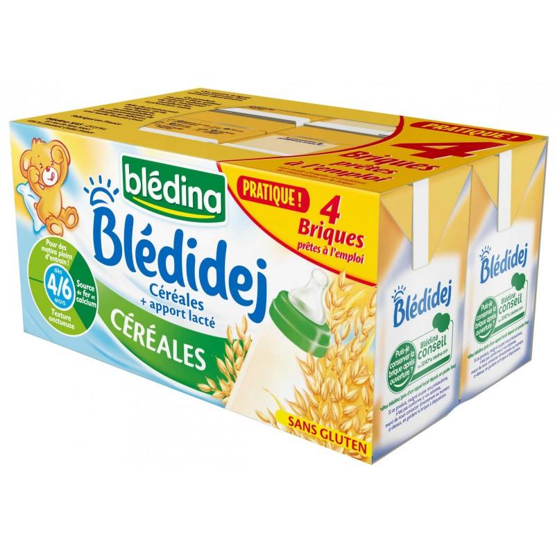 Blédidej Céréales 4x250ml