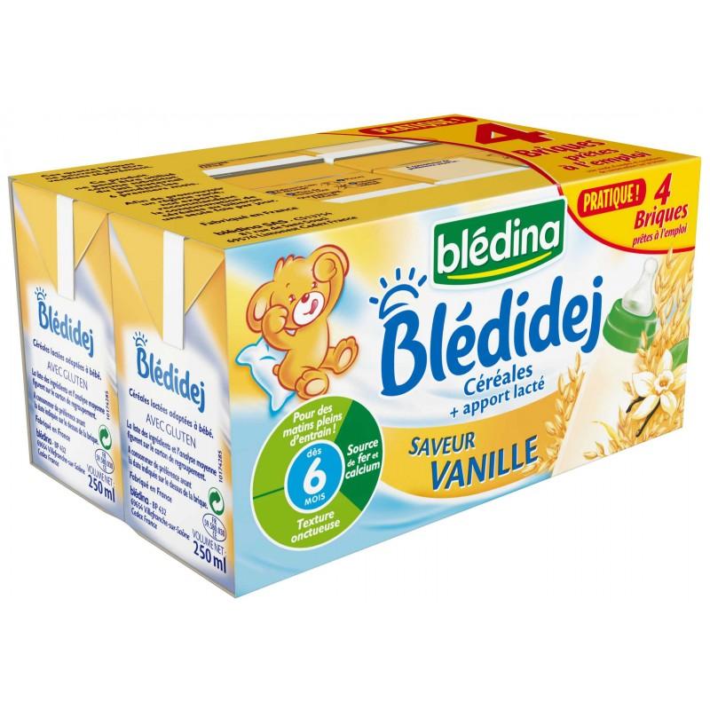 Blédidej Saveur Vanille 4x250ml