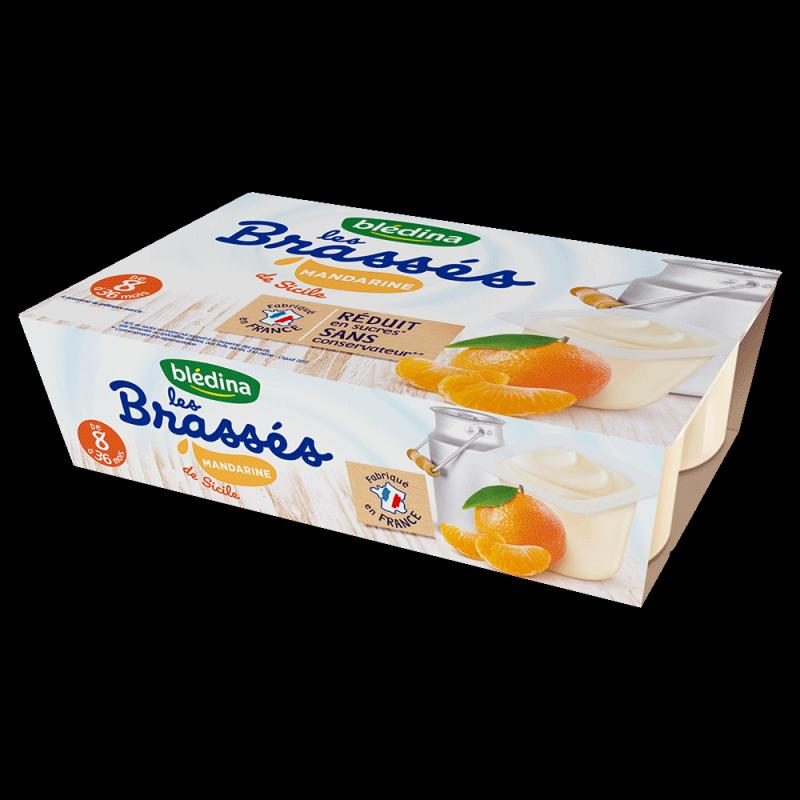 Pack Les Brassés Mandarine de Sicile