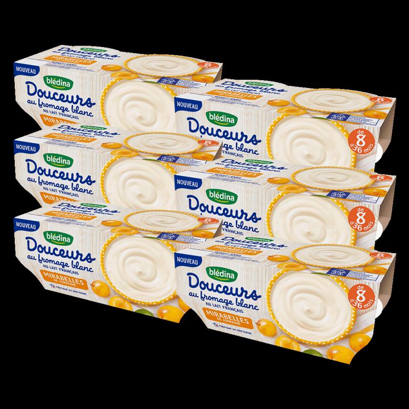 Pack Douceurs au Fromage Blanc Mirabelles de Lorraine