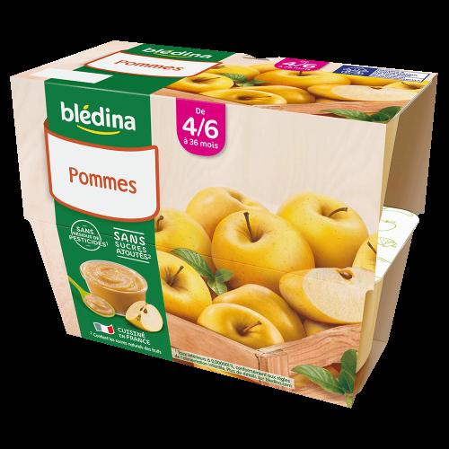Pack Coupelles Fruits Pommes