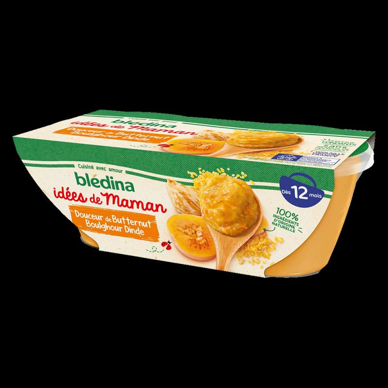 Pack Idées de Maman Douceur de Butternut Boulghour Dinde