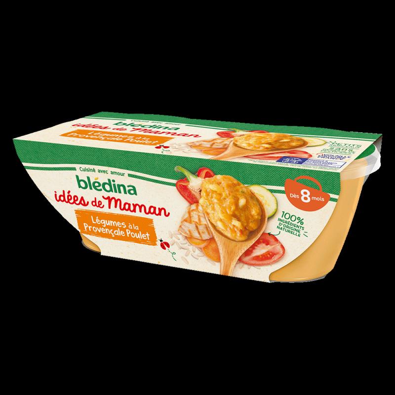 Pack Idées de Maman Légumes à la provençale Poulet