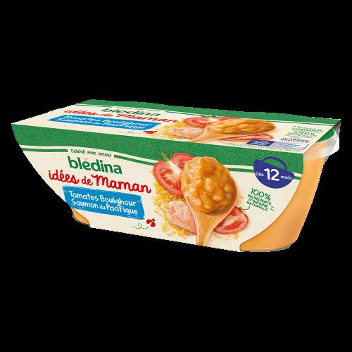 Pack Idées de Maman Tomates Boulghour Saumon du pacifique
