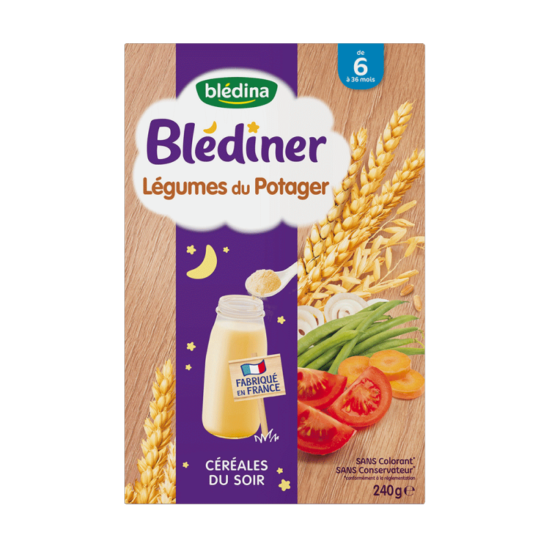 Pack Blédiner Légumes du potager