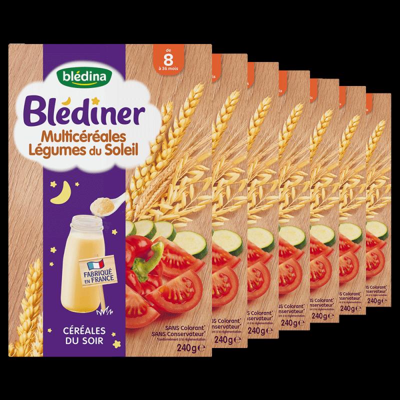 Pack Blédiner Multicéréales Légumes du Soleil