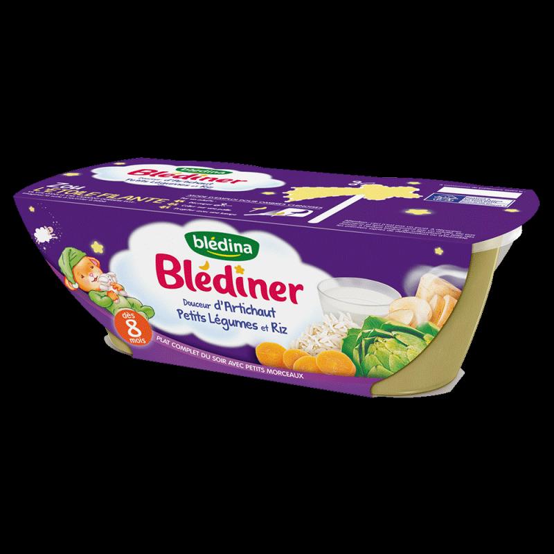 Pack Blédîner Douceur d'Artichaut Petits Légumes et Riz