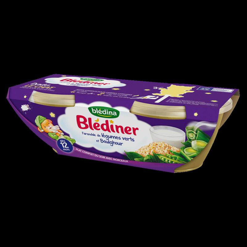 Pack Blédîner Farandole de légumes verts et boulghour