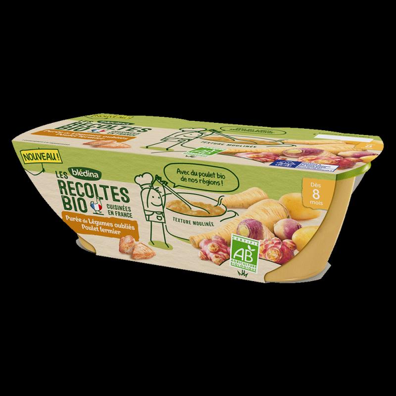 Pack Bio Légumes oubliés Poulet fermier