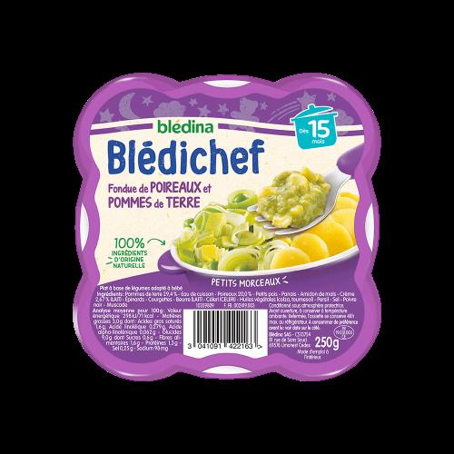 Pack Blédichef Fondue de poireaux et pommes de terre