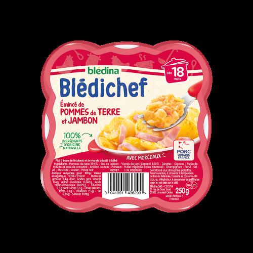 Pack Blédichef Emincé de pommes de terre et jambon