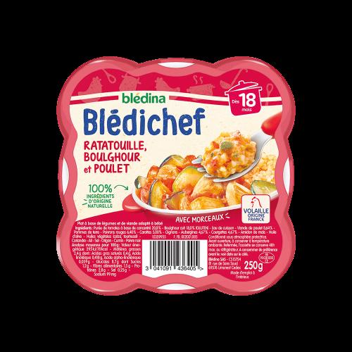 Pack Blédichef Ratatouille, boulghour et poulet