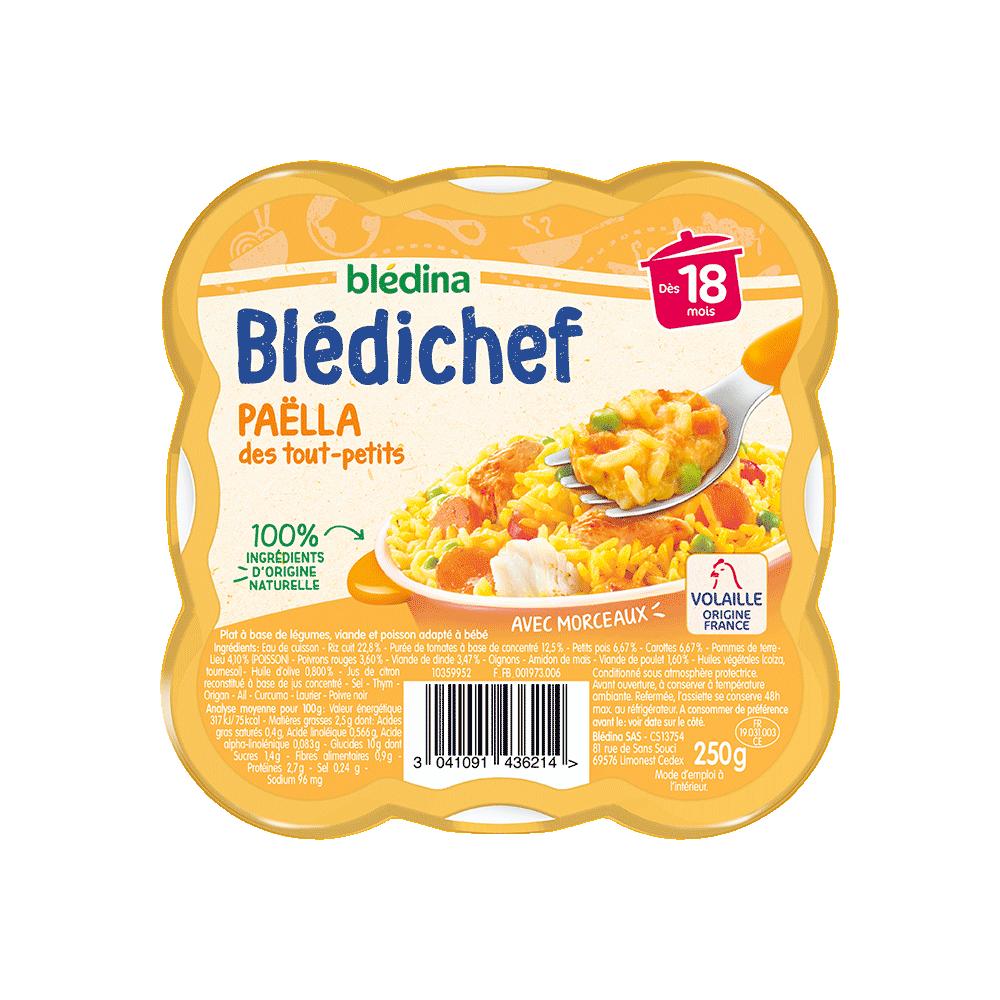 Pack Blédichef Paëlla des tout-petits