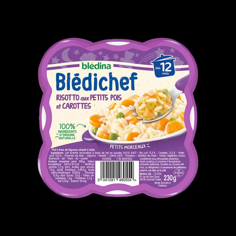 Pack Blédichef Risotto aux petits pois et carottes