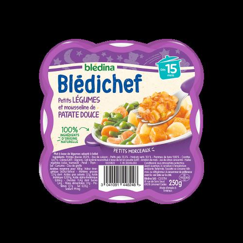 Pack Blédichef Petits légumes et mousseline de Patate douce