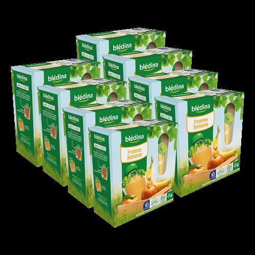 Pack Gourdes Pommes Bananes