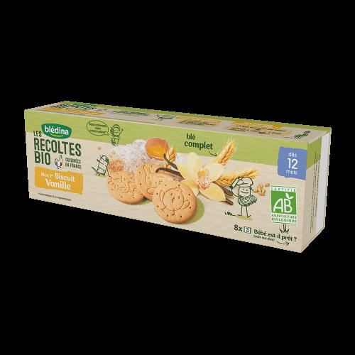 Pack Mon 1er Biscuit bio Vanille