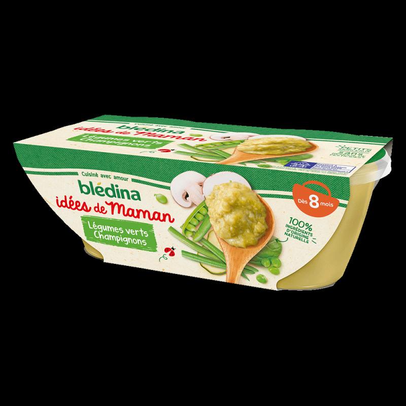 Pack Idées de Maman Légumes verts Champignons