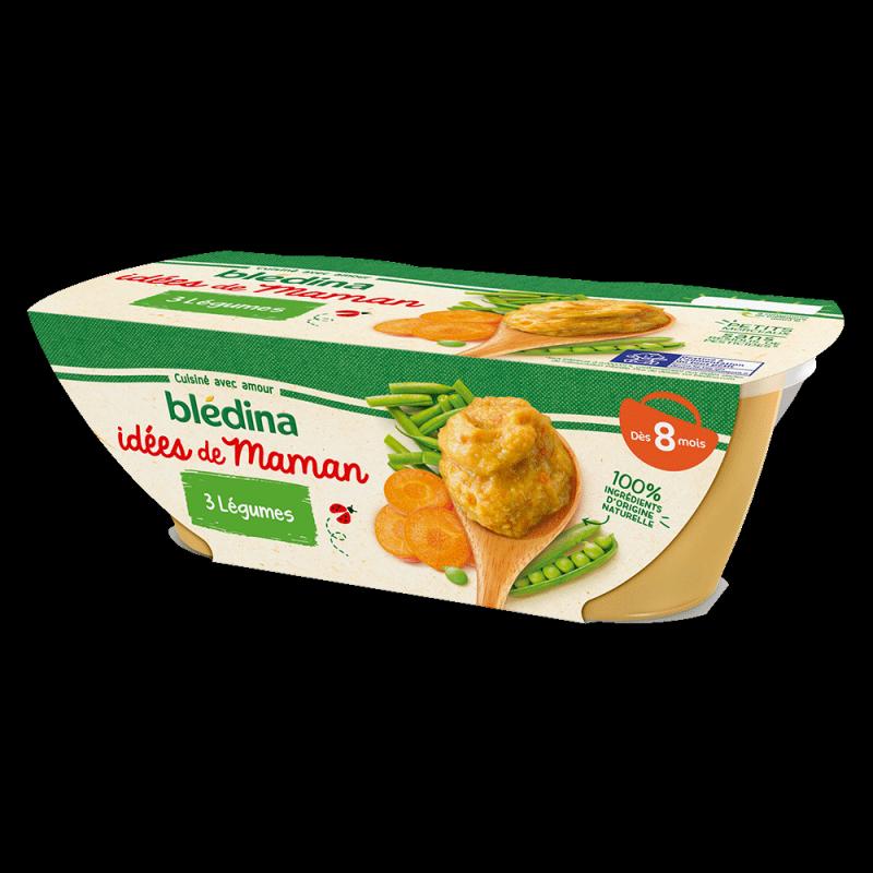 Pack Idées de Maman 3 légumes