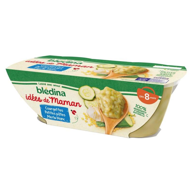 Idées de Maman Courgettes Petites pâtes merlu blanc