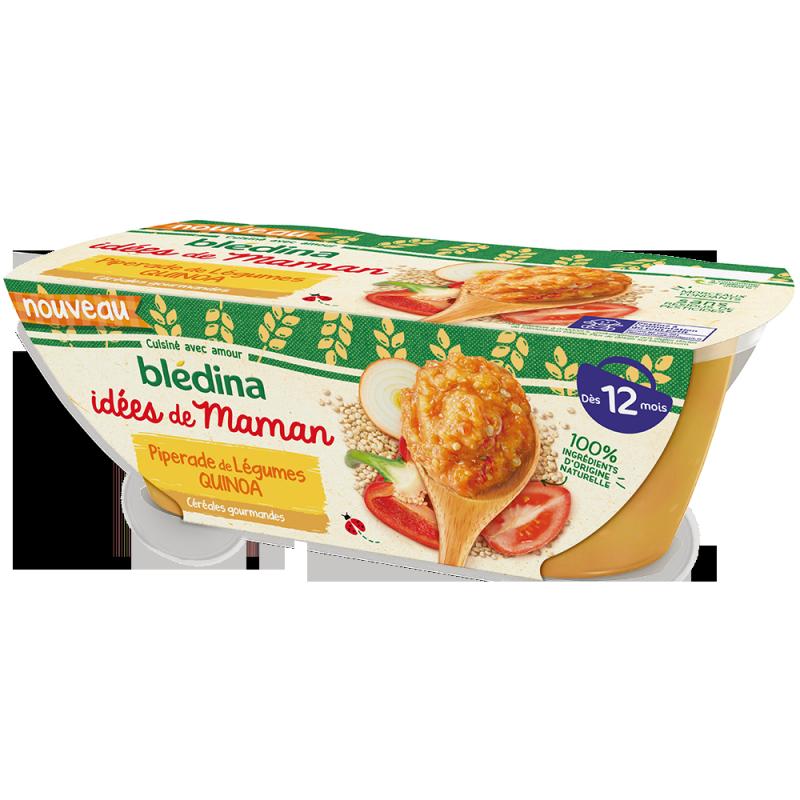 Idées de Maman Céréales gourmandes Piperade de Légumes Quinoa