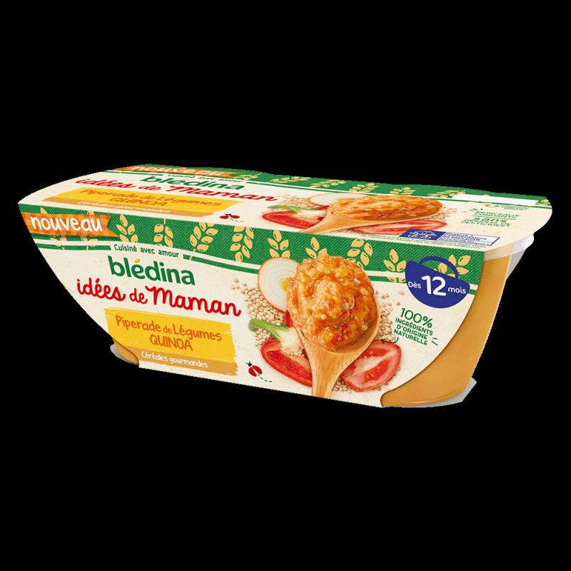 Pack Idées de Maman Piperade de légumes quinoa