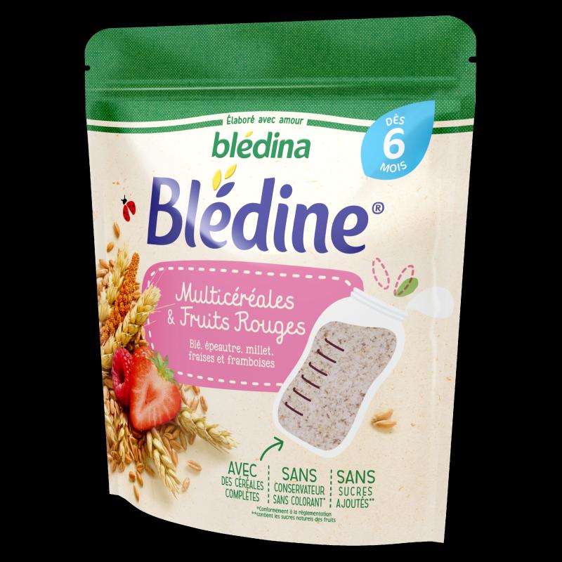 Blédine - Multicéréales et Fruits rouges