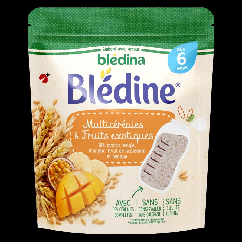 Blédine - Multicéréales et Fruits exotiques