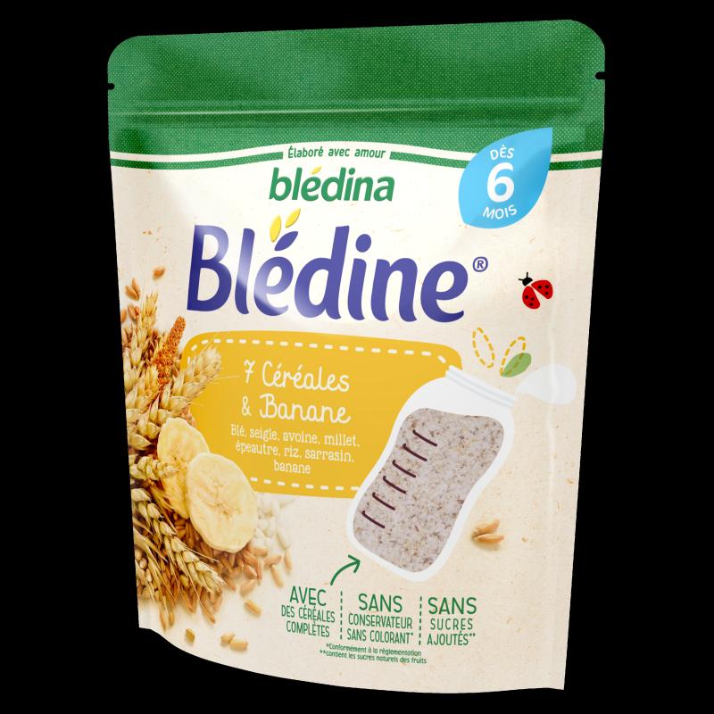Blédine - 7 céréales et Banane