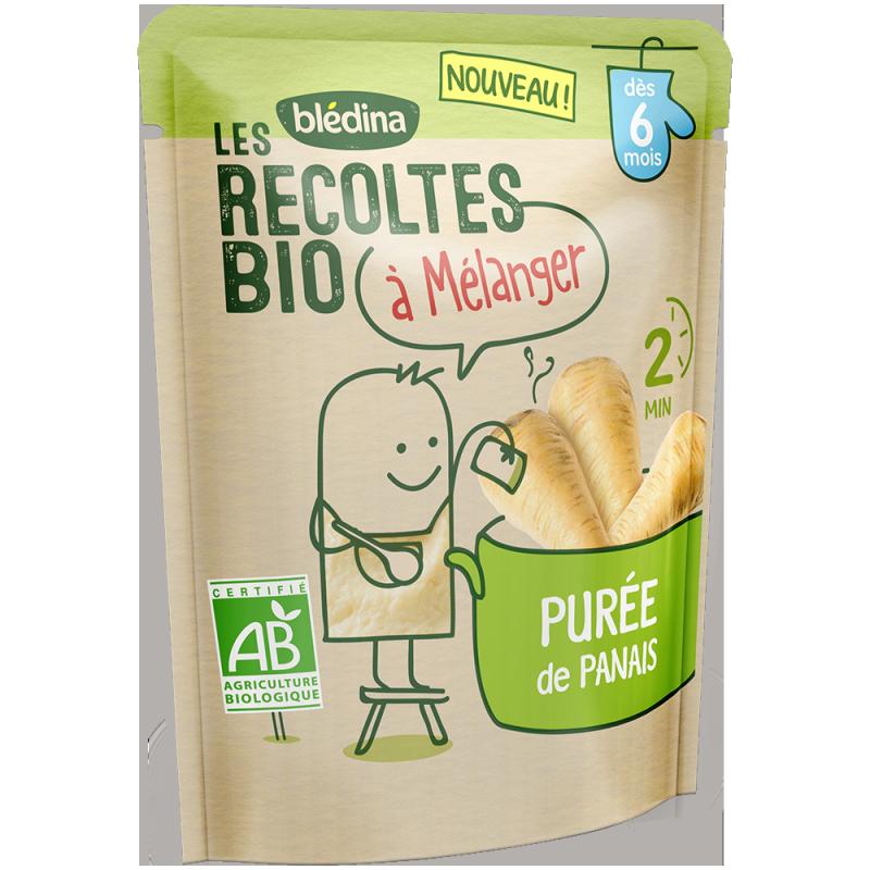 Les récoltes bio à mélanger Purée de Panais