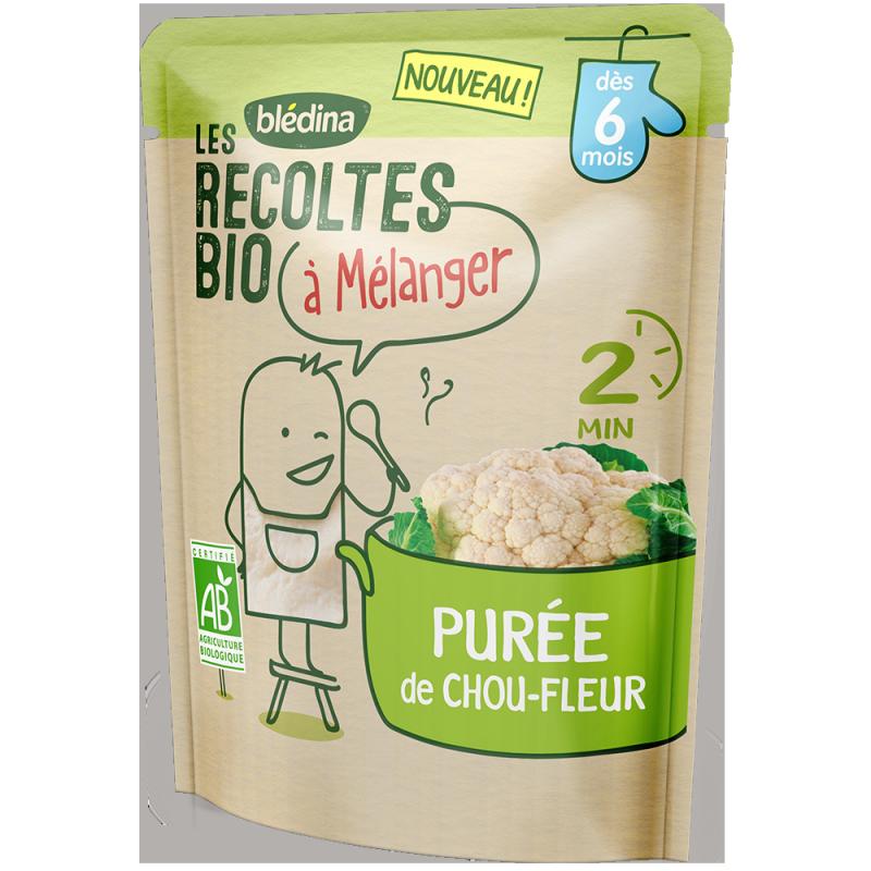 Purée de Chou-fleur Les récoltes bio à mélanger