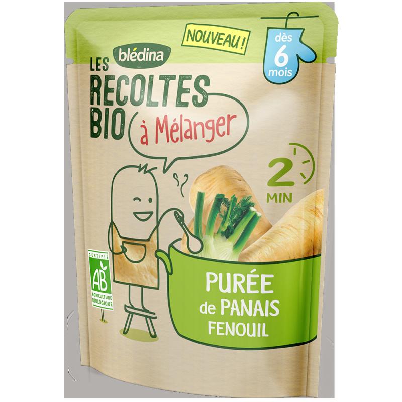 Purée de Panais Fenouil Les récoltes bio à mélanger