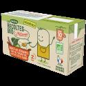 Les Récoltes Bio à mélanger Sauce de légumes duo de fleurette, lait de coco, curry