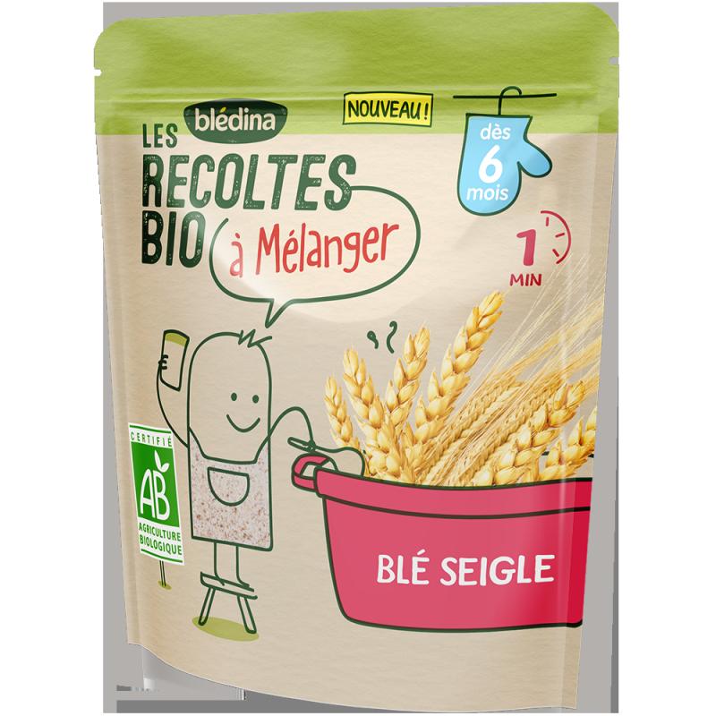 Blé Seigle Les récoltes Bio à mélanger