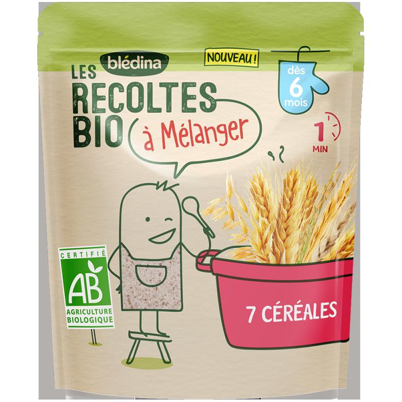Les récoltes Bio à mélanger - 7 Céréales