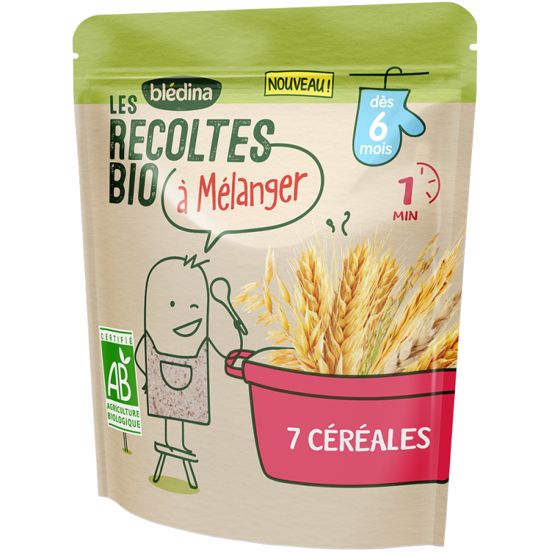 7 Céréales Les récoltes Bio à mélanger