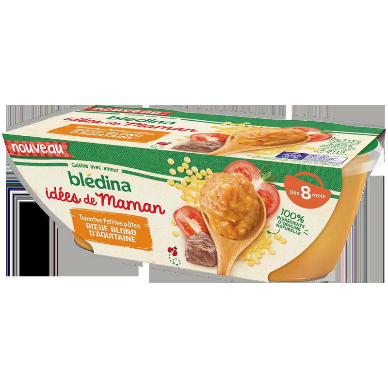 Idées de Maman Tomates Petites pâtes Bœuf blond d'Aquitaine