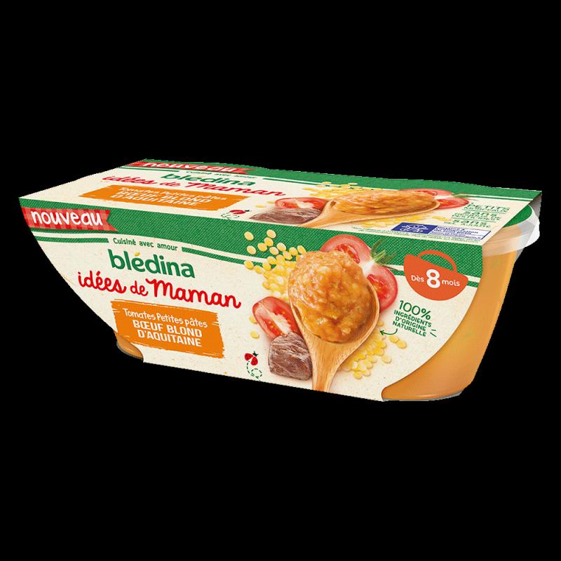 Pack Idées de Maman Tomates Petites pâtes Bœuf blond d'Aquitaine