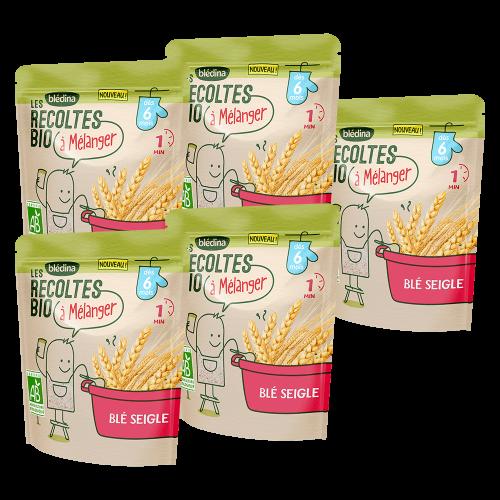 Pack Les récoltes Bio à mélanger - Blé Seigle