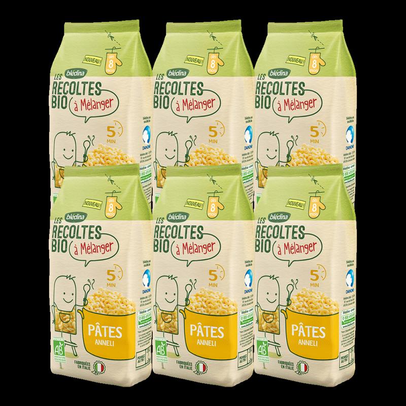 Pack Les récoltes bio à mélanger Pâtes Anneli