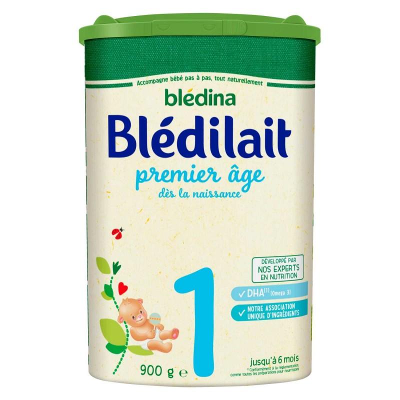 Blédilait en poudre 1er âge de 0 à 6 mois - 900 g