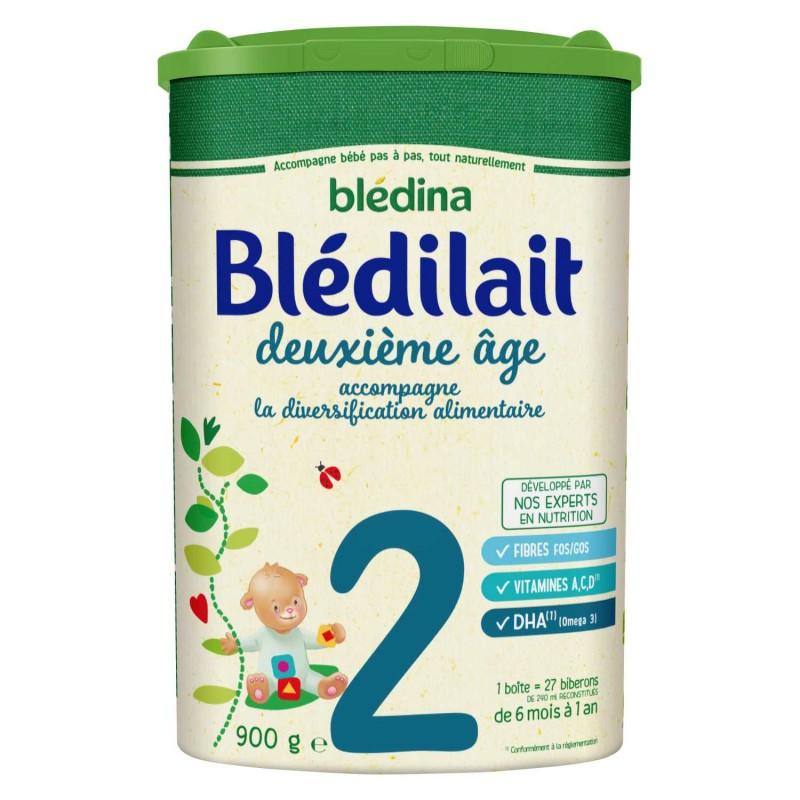 Blédilait en poudre 2ème âge de 6 à 12 mois - 900 g