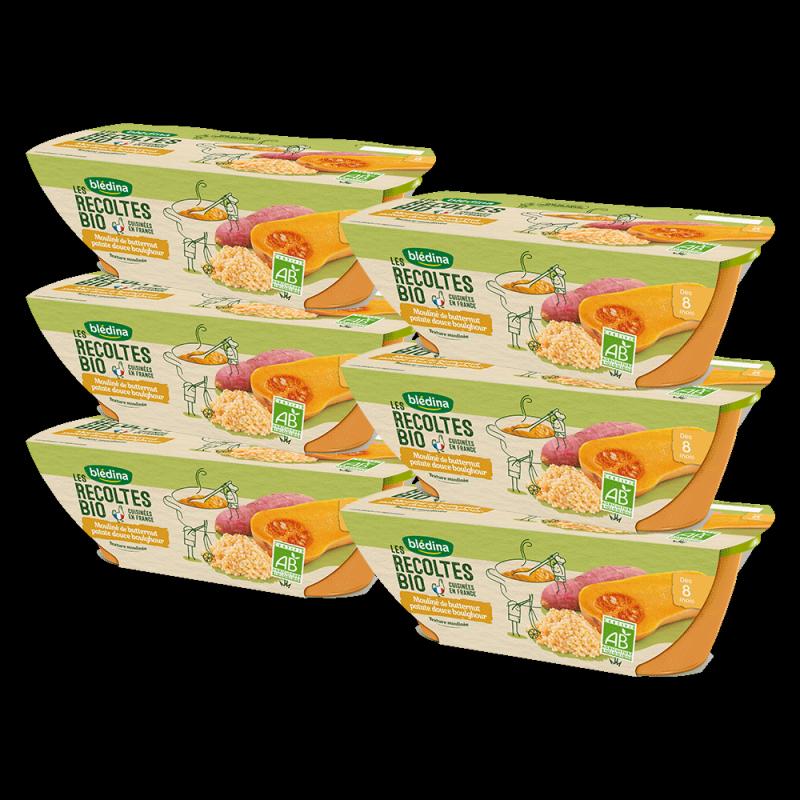 Pack Bio Mouliné de Butternut Patate douce Boulghour