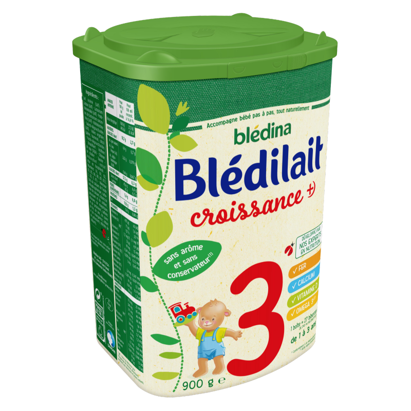 Blédilait Croissance +) 900g