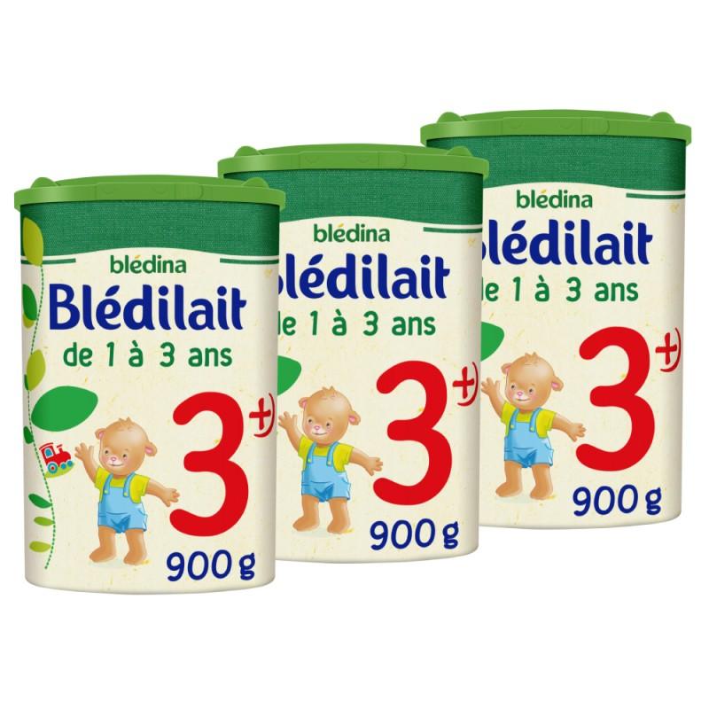Lot x3 - Blédilait Croissance 3 - Dès 12 Mois