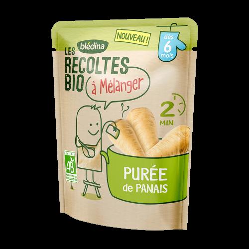 Pack Les récoltes bio à mélanger Purée de Panais