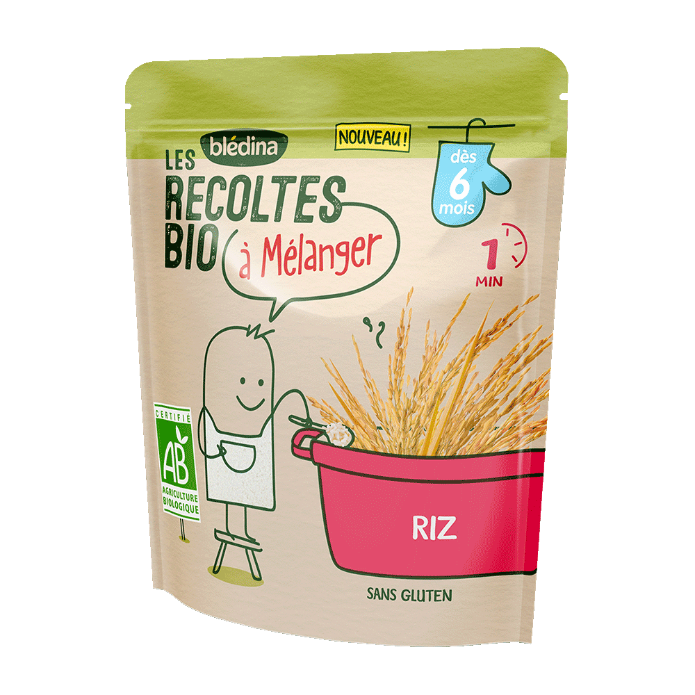 Pack Les récoltes Bio à mélanger - Riz